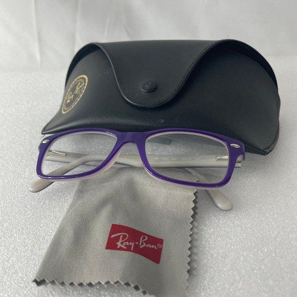 Ray-Ban Eyeglasses RB 1531 3591 Purple Full Rim